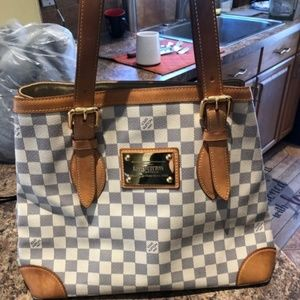 LV Hampstead MM Damier Azur
